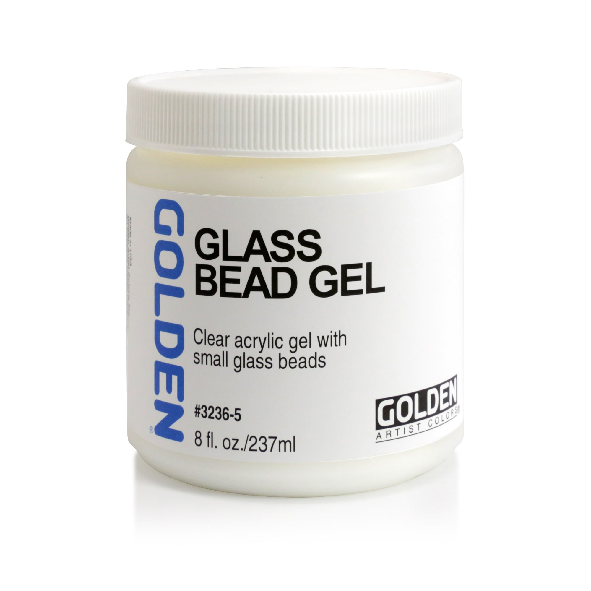 golden glass bead gel acrylic mediums gels pastes