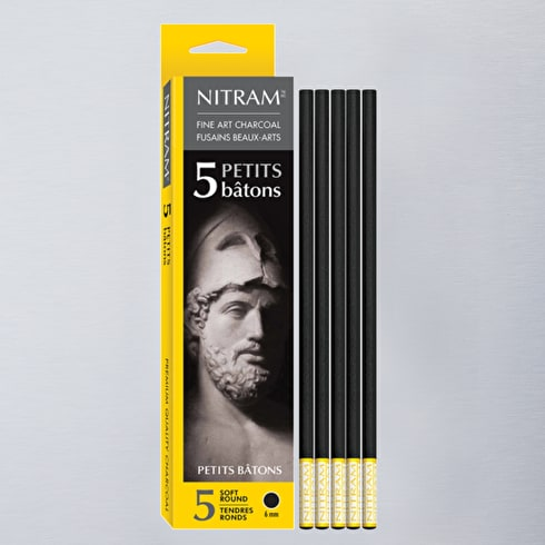 Nitram Petits Batons Extra Soft Round 6mm Pack of 5