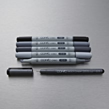 Copic Ciao Pack of 6 Grey Tones
