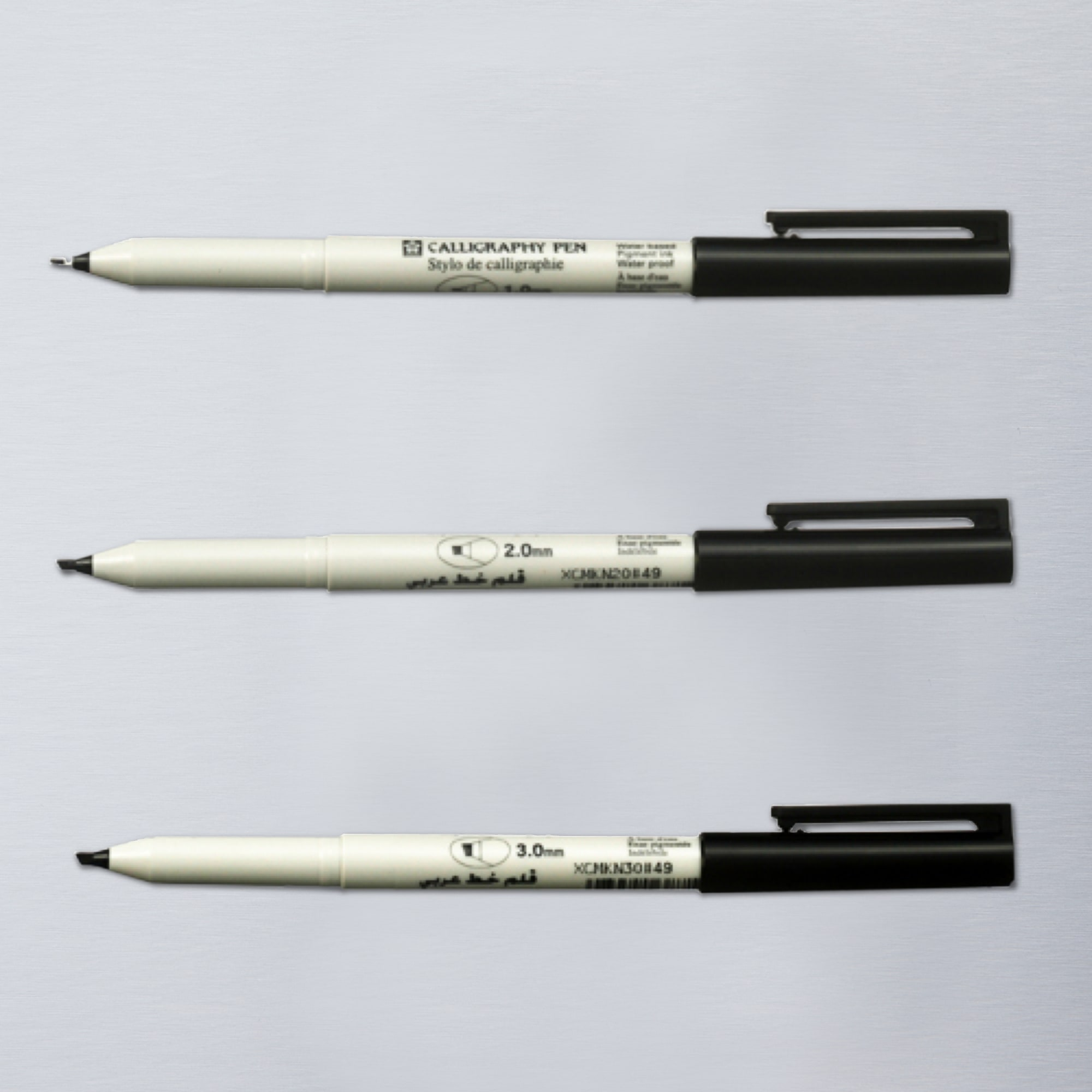 Sakura calligraphy pen black calligraphy pens Drawing with calligraphy pens