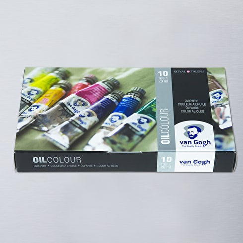 Van Gogh Oil Colour Basic Set of 10 20ml | Cass Art