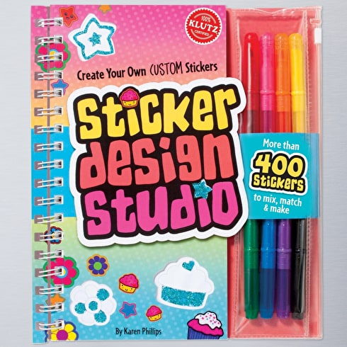 Sticker Design Studio by The Editors of Klutz