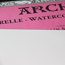 Arches Aquarelle Watercolour Block 300gsm Hot