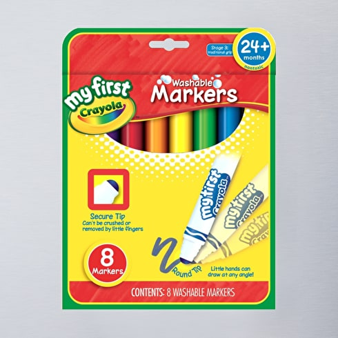 Crayola First Markers Pack of 8
