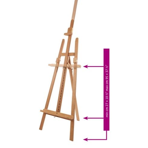 Mabef M13 Lyre Artist Easel | Professional Easels | Cass Art