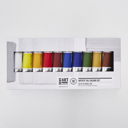 Cass Art Artists' Oil Colour 37ml Set of 10 | Cass Art