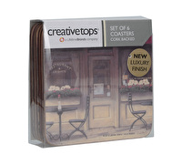 Creative Tops Chez Colette Pack Of 6 Premium Coasters