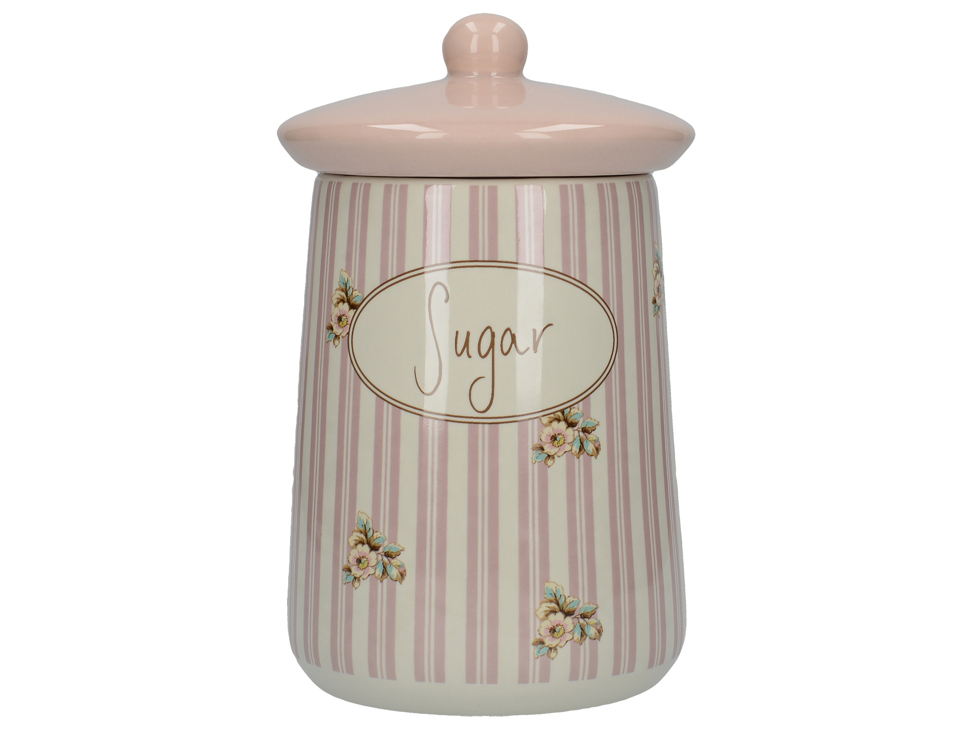 Katie Alice Cottage Flower Sugar Storage Jar