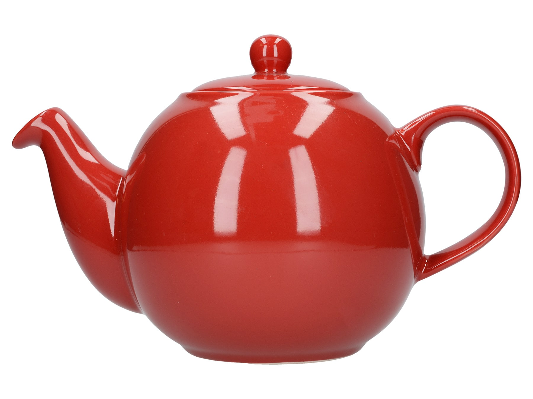 London Pottery Globe 8 Cup Teapot Red