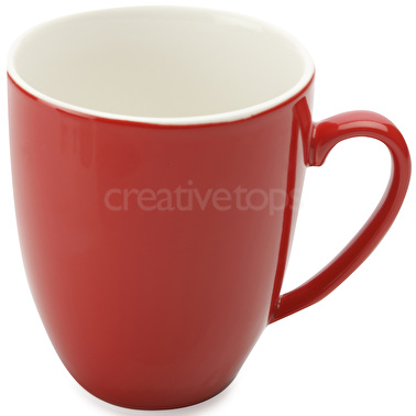 Maxwell & Williams Cafe Culture 400Ml Coupe Mug Rosso