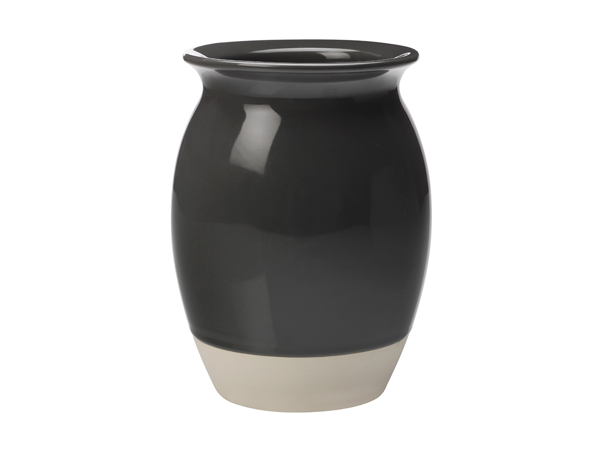Maxwell & Williams Artisan Utensil Holder Charcoal