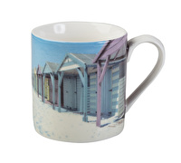 Everyday Home Photographic Beach Huts Can Mug