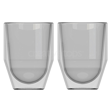 La Cafetiere Fika Set Of 2 200Ml Double Walled Glasses