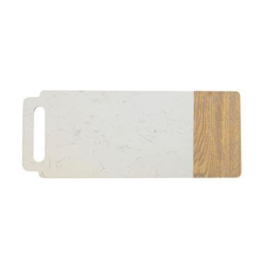 Maxwell & Williams Elemental 50X20Cm Marble Ash Board Handle
