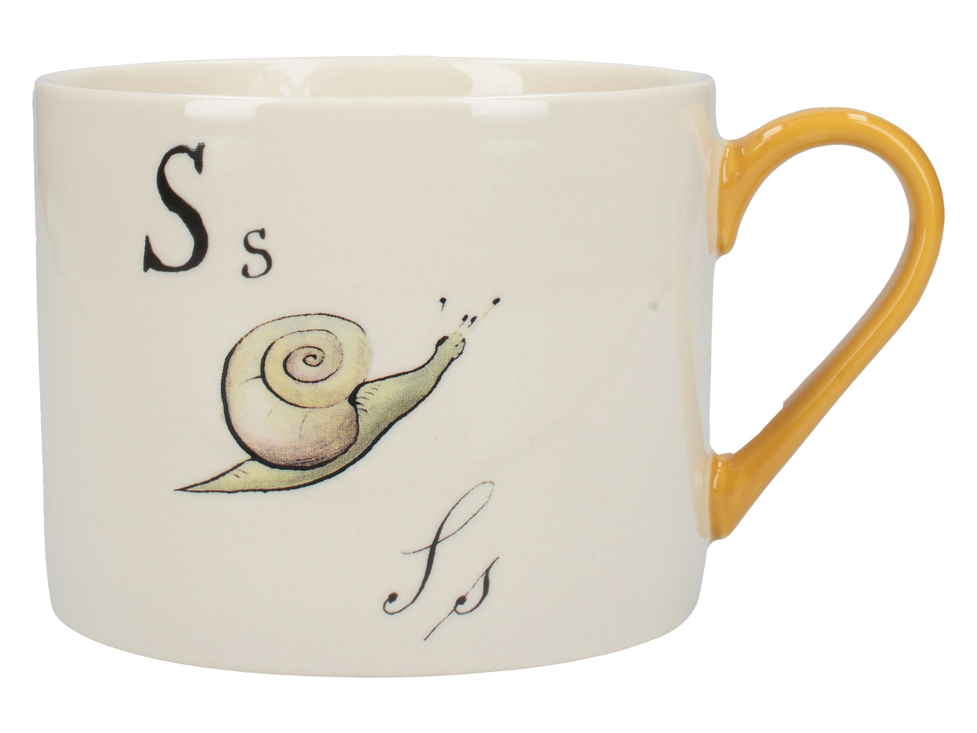 Victoria And Albert Nonsense Alphabet Squat Can Mug S