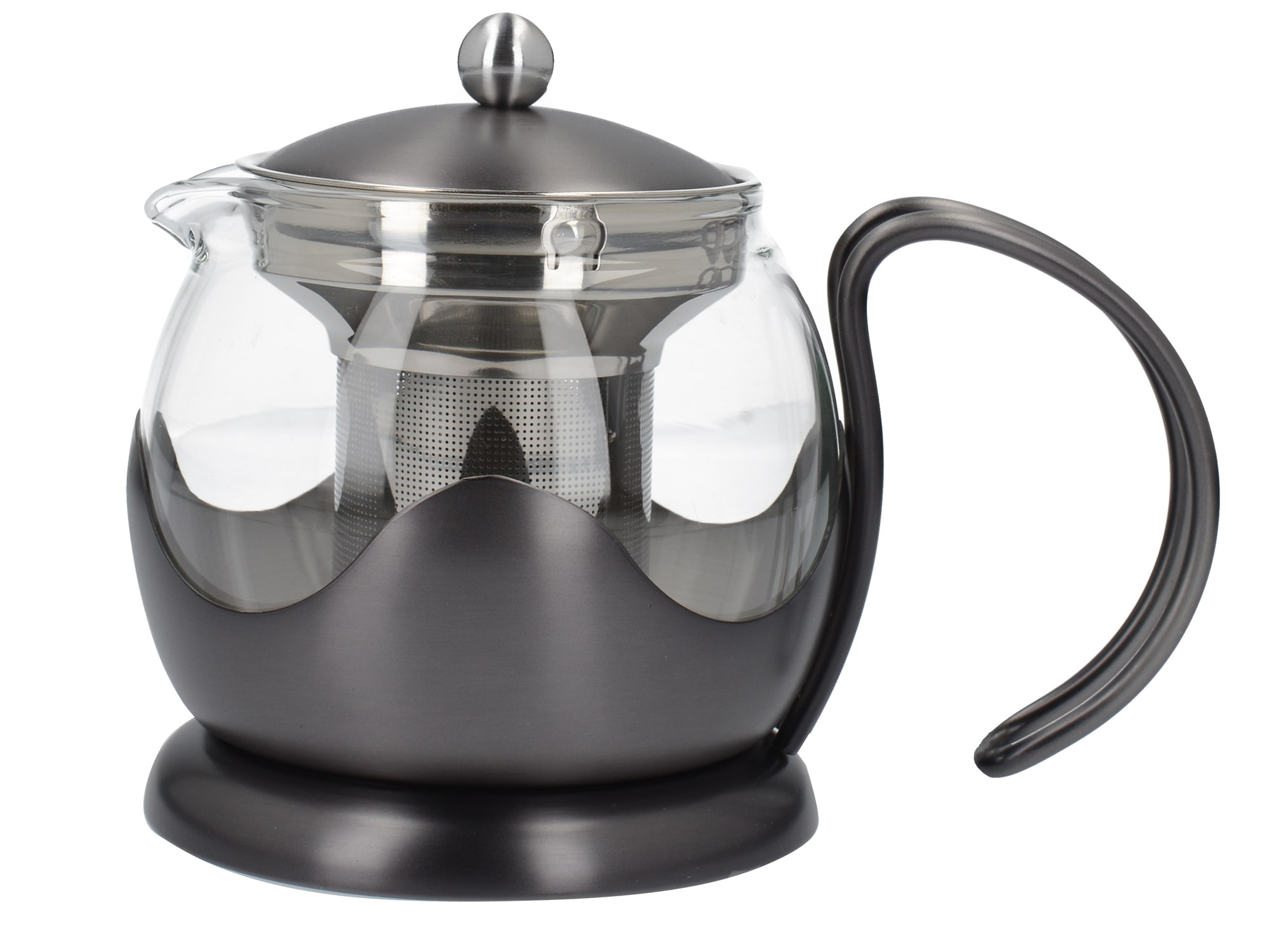 La Cafetiere Edited 2 Cup Le Teapot Gun Metal Grey