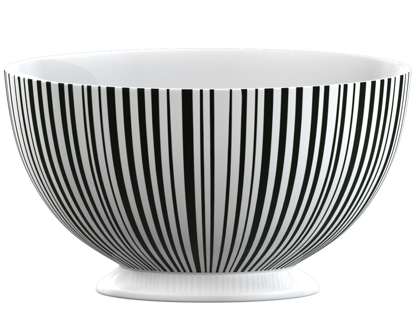 La Cafetiere Black Stripe Footed Bowl