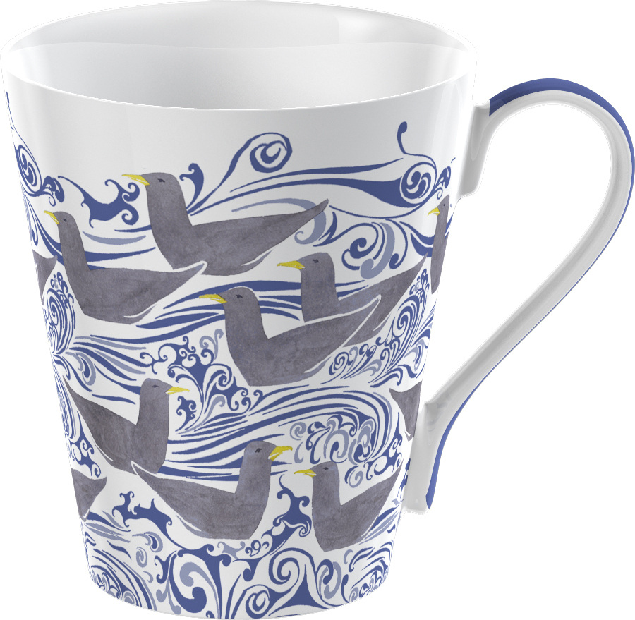 Victoria And Albert Seagulls Conical Boxed Mug