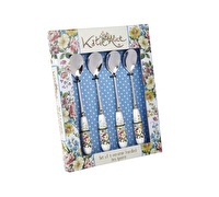 Katie Alice English Garden Set Of 4 Teaspoons