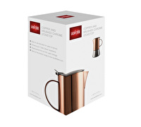 La Cafetiere 4 Cup Stainless Steel Copper Stovetop