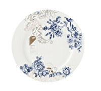 Victoria and Albert Palmers Silk Dinner Plate