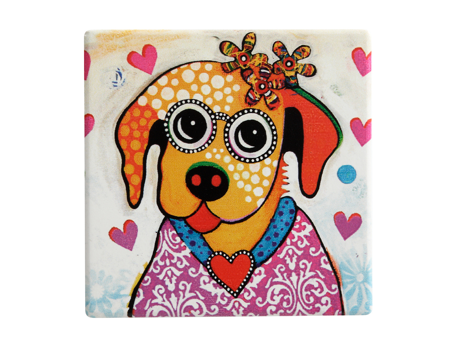 Maxwell & Williams Smile Style Posey 9Cm Coaster