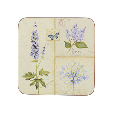 Creative Tops Etude De Fleurs Pack Of 6 Premium Coasters