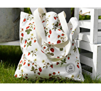 Kew Gardens Strawberry Fayre Cotton Bag