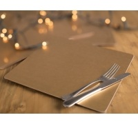 Creative Tops Opulence Gold Foil Pack Of 4 Square Placemats