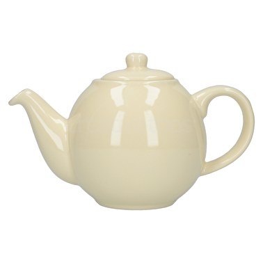 London Pottery Globe 2 Cup Teapot Ivory