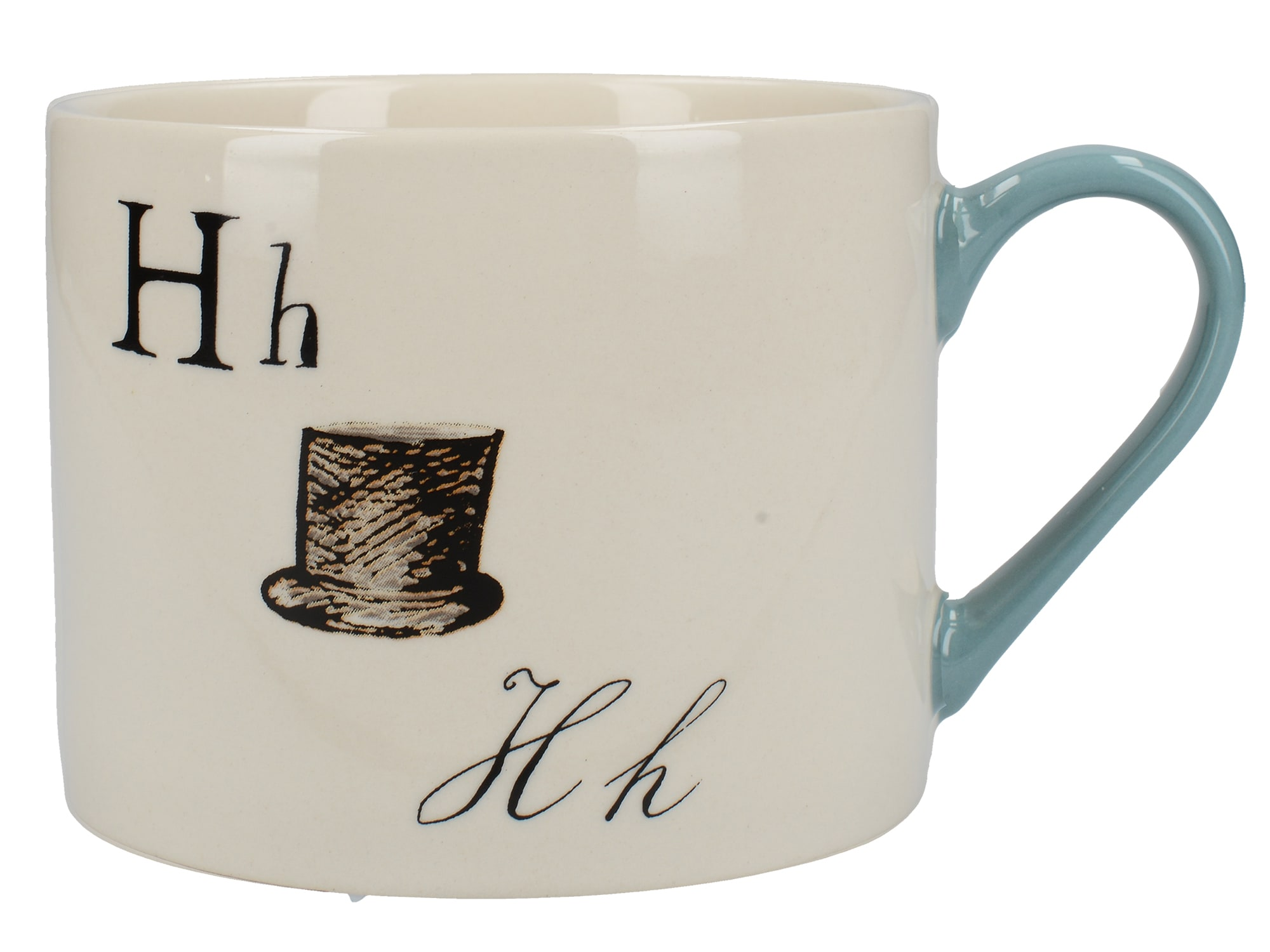 Victoria And Albert Nonsense Alphabet Squat Can Mug H