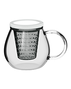 Photo of La Cafetiere Glass Tea For One White