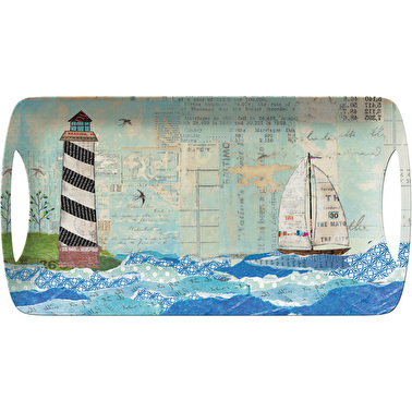 Creative Tops Sea View Small Luxury Handled Tray