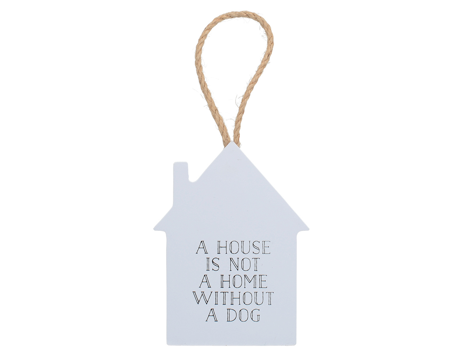 Creative Tops Tails & Treats A House Is Not A Home Without A Dog Sign Grey