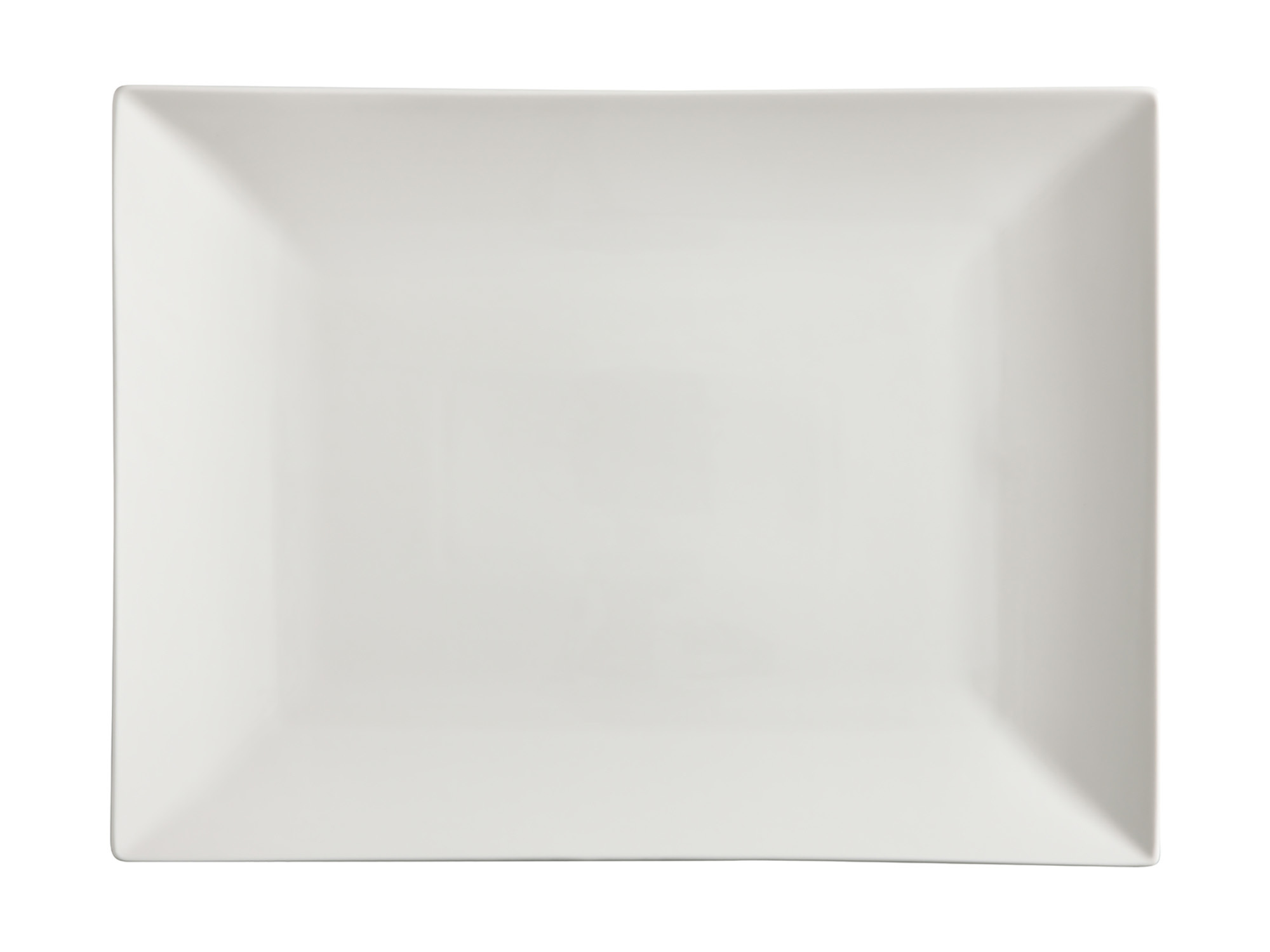 Maxwell & Williams White Basics Linear 40X30Cm Rectangle Platter Gift Boxed