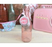 Creative Tops Retro Treats Glass Soda Bottle Pink