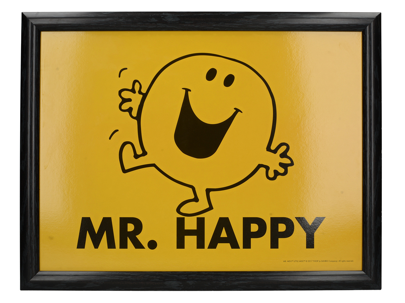 Mr Men Mr Happy Bounce Laptray