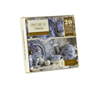 Creative Tops Blue And White China Pack Of 6 Premium Coasters