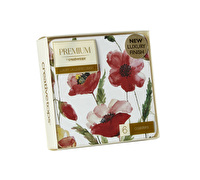Creative Tops Watercolour Poppy Pack Of 6 Premium Coasters