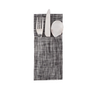 Creative Tops Grey Speckled Vinyl Cutlery Pouch