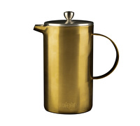 La Cafetiere Edited Double Walled 8 Cup Cafetiere Brushed Gold