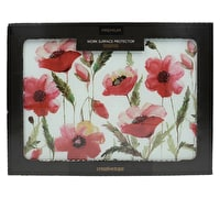 Creative Tops Watercolour Poppy Work Surface Protector