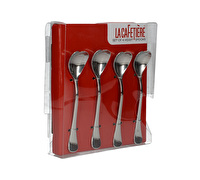 La Cafetiere Set Of 4 Heart Spoons