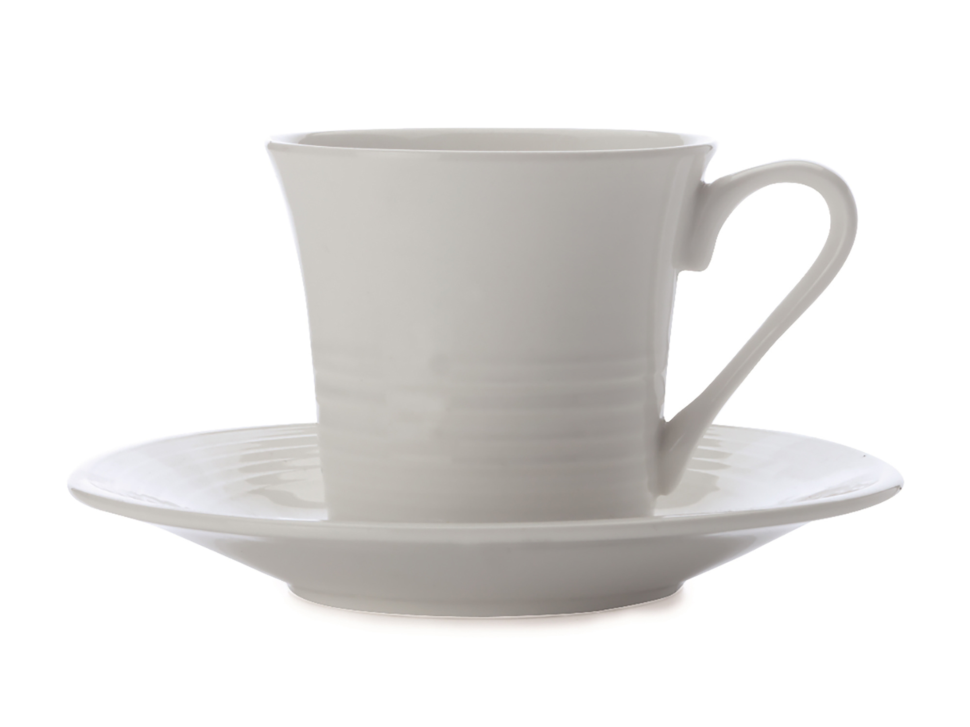 Maxwell & Williams White Basics Cirque Cup And Saucer