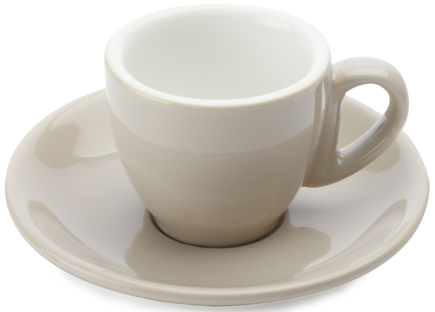 Maxwell & Williams Cafe Culture 70Ml Cup And Saucer Crema