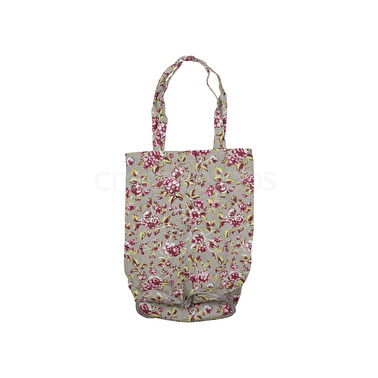 Katie Alice Ditsy Floral Cotton Foldaway Bag Teal