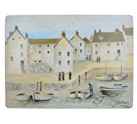 Creative Tops Cornish Harbour Pack Of 4 Large Premium Placemats