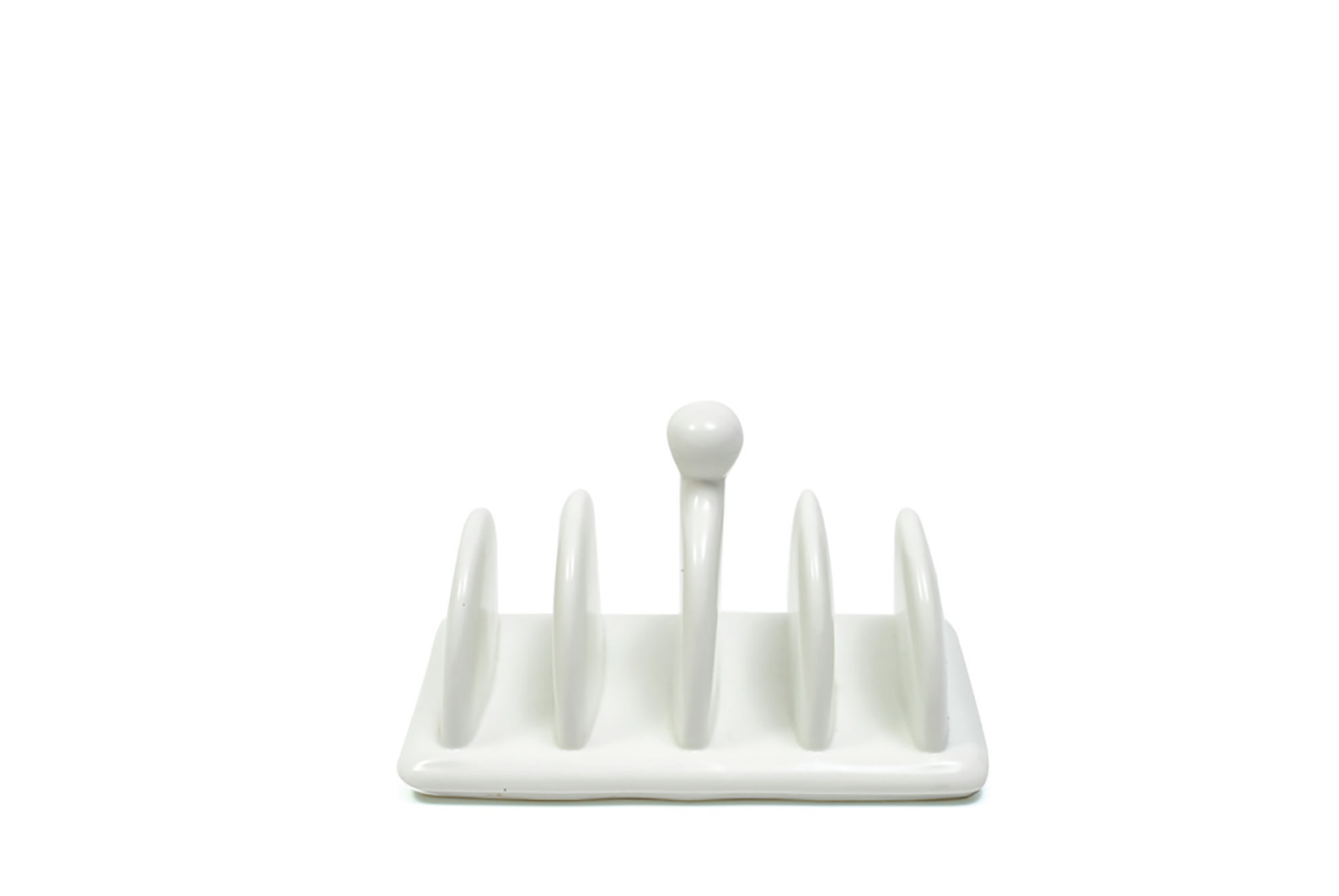 Maxwell & Williams White Basics 16X8.5Cm Toast Rack Gift Boxed