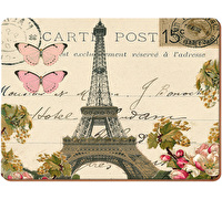 Everyday Home Paris Postcard Pack Of 4 Placemats