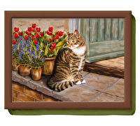 Creative Tops Cottage Cat Laptray